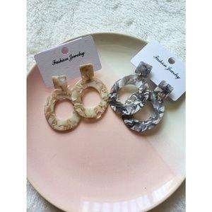 SET of 2 Dangle Earrings